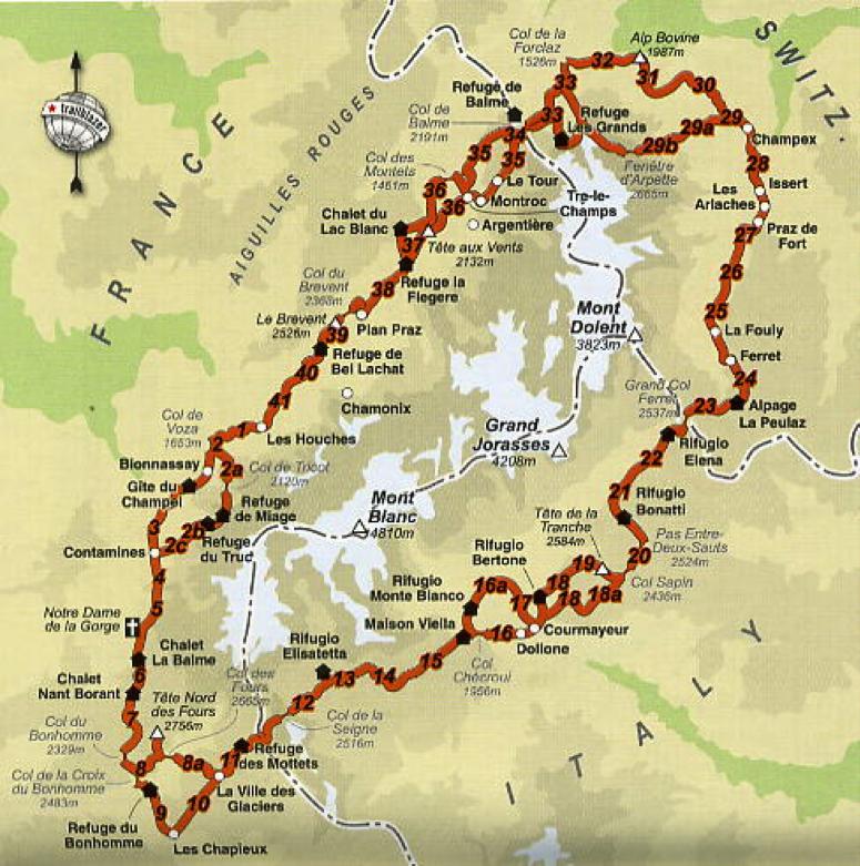 Acomodation Map