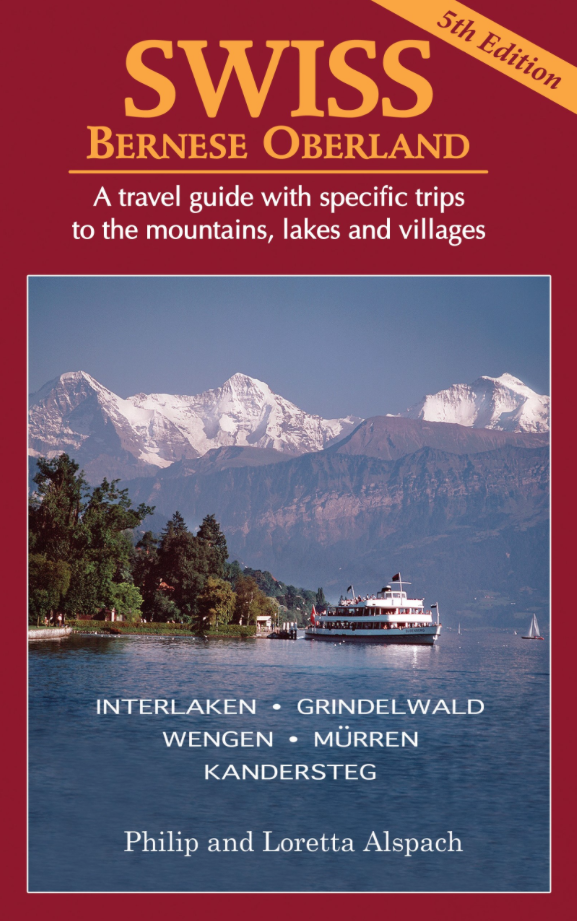 Book Cover - SWISS Bernese Oberland